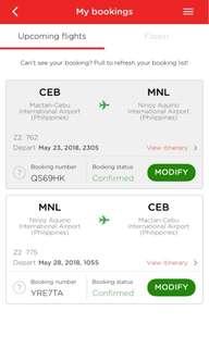 Plane ticket ( air asia)
