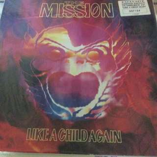 "NM The mission limited numbered like a child again etched 10"" record vinyl rock goth"