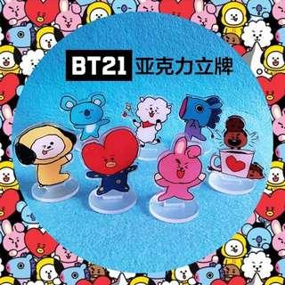 BTS BT21 STANDEE