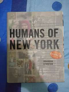 Humans of New York Signed Edition