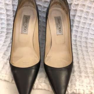 Jimmy Choo ladies leather shoes size 37