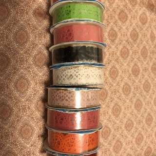 (New) Multi coloured stationery tape