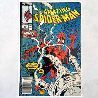 Marvel Comics Amazing Spider-Man 302 Very Fine Condition Newsstand Variant Todd McFarlane Art and Cover