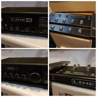 Line6 Amplifi TT + Line6 MKII board controller