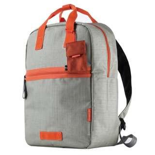 Crumpler Doozie backpack M Black or Orange/Gray