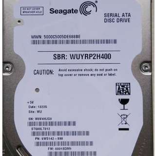 SEAGATE 2.5inch 500G laptop HDD internal notebook Hard Disk drive