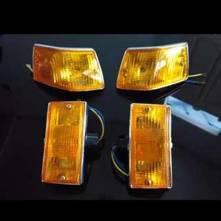 Vespa new px orange signal lamp