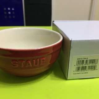 Staub 12cm 紅色碗