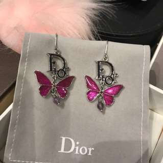 Dior Butterfly Earing