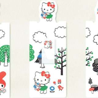 Sanrio hello kitty magnet bookmarker fusen