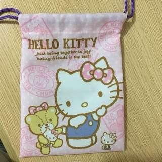 Hello Kitty雙面索繩袋(包郵)