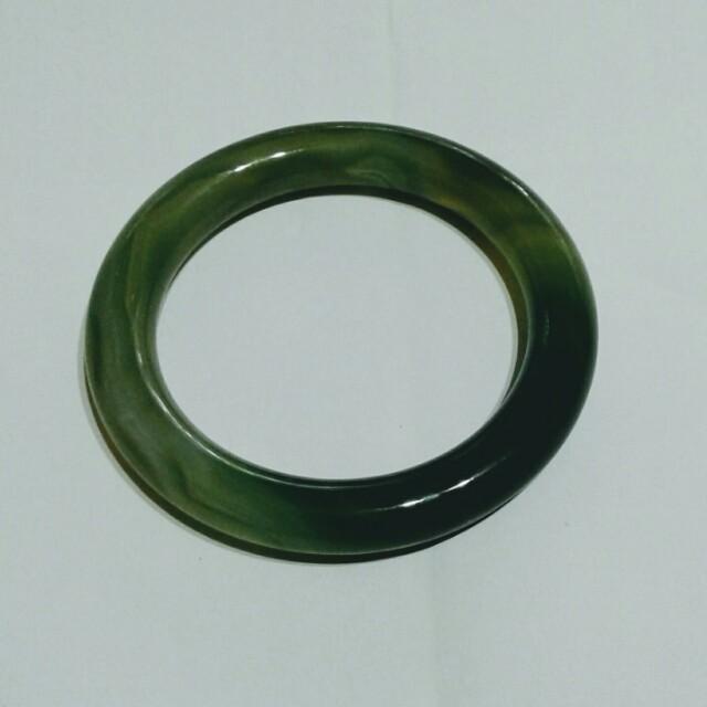 天然綠瑪瑙手環  39號