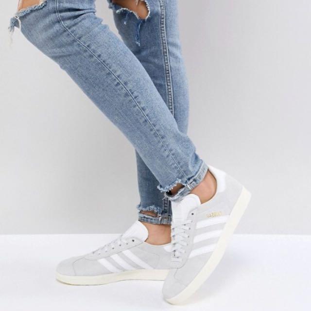 adidas gazelle pale grey