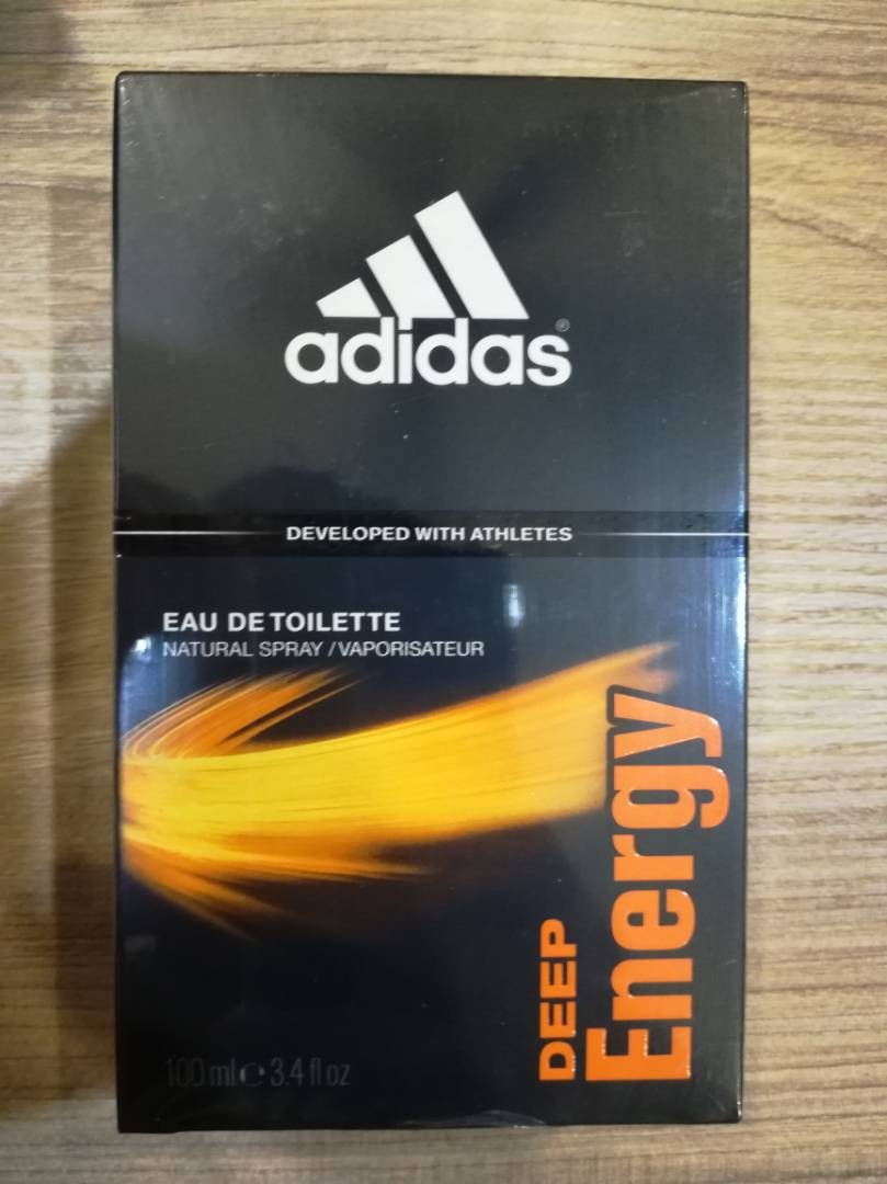 Adidas Perfume Deep Energy 100ml Health Beauty Perfumes Nail