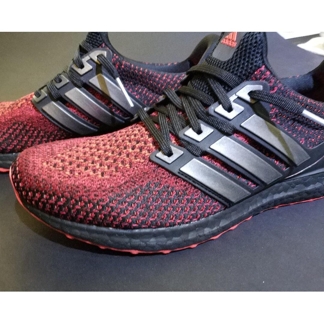 c31f86d51 Adidas Ultra Boost 2.0 Custom Solar Red AQ5930
