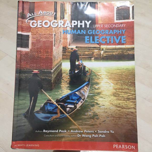 All about geography - Upper secondary - human geography elective