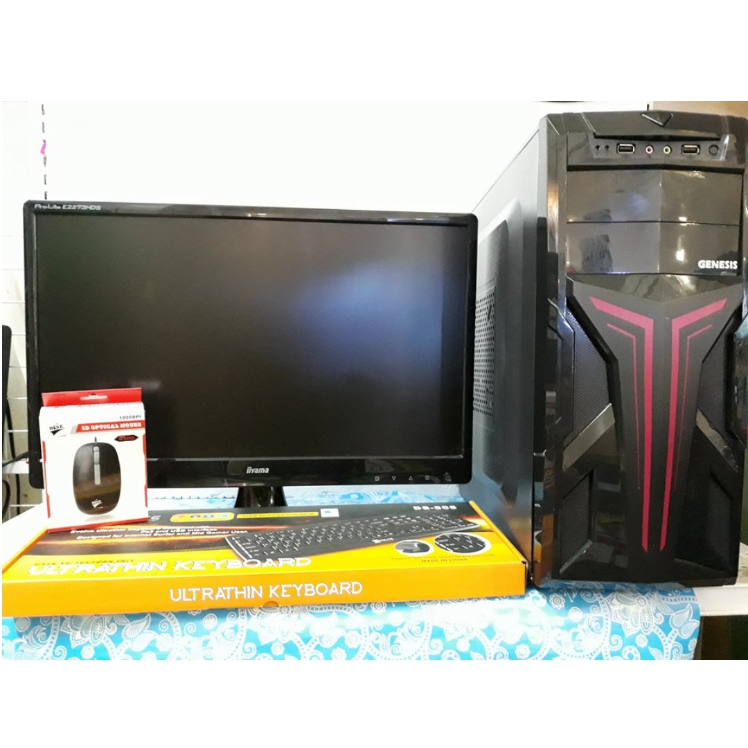 Amd A10 Desktop Set Electronics Computers Desktops On Carousell Aigoo 2gb
