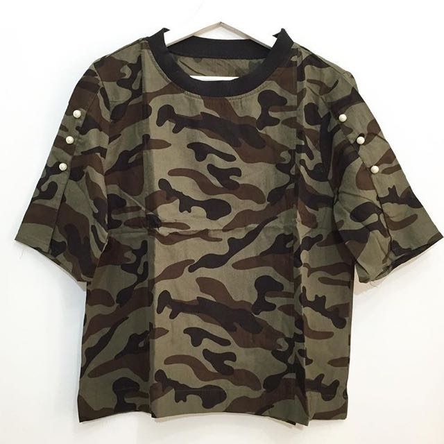 Army pearl top
