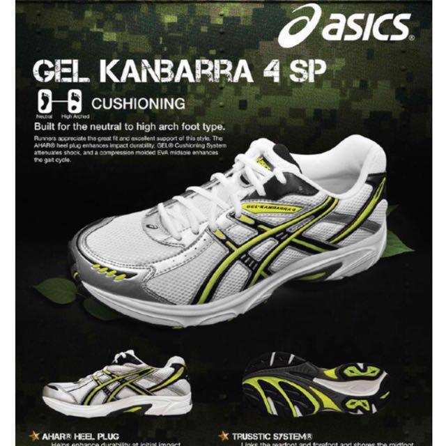 962d33bbf4d Asics Gel Running Shoes T10XQ GEL-KANBARRA 4 SP (2E), Men's Fashion ...