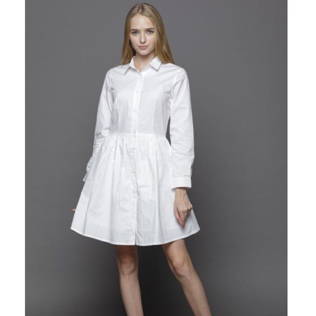 Attic + Willow White Dress