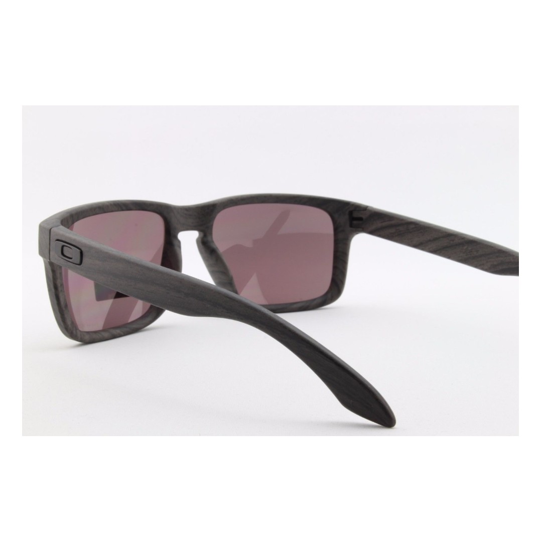 7c728b09f7 Authentic Brand New in Box Oakley Holbrook Sunglasses Woodgrain Collection  Polarized Prizm Daily OO9102-B7