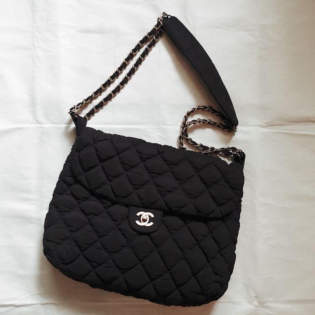 Authentic CHANEL Large Bubble Flap Bag