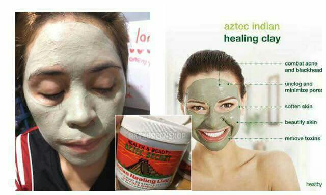 aztec indian healing clay and apple cider vinegar health beauty