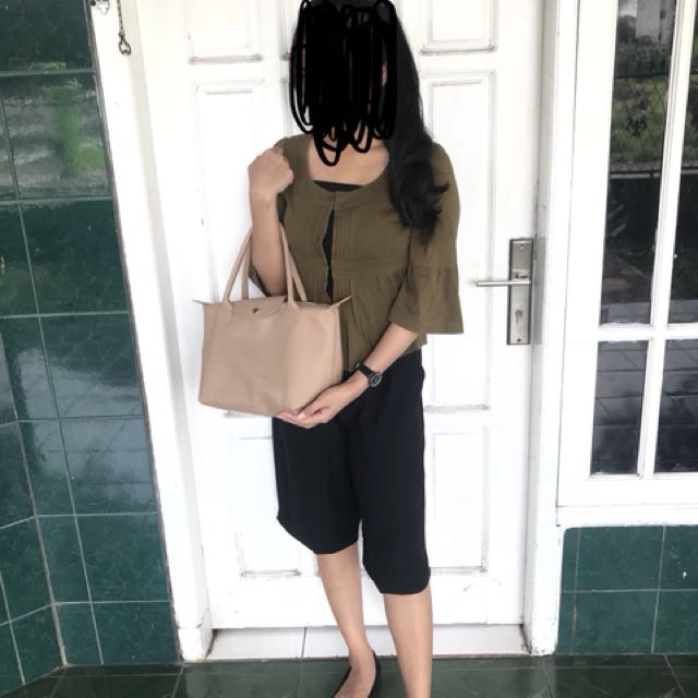 Bag and blouse