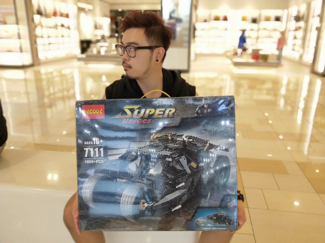Batmobile The Tumbler Batman Super Hero Lego Compatible D Toys Bricks Decool 7111 Games Figurines On Carousell