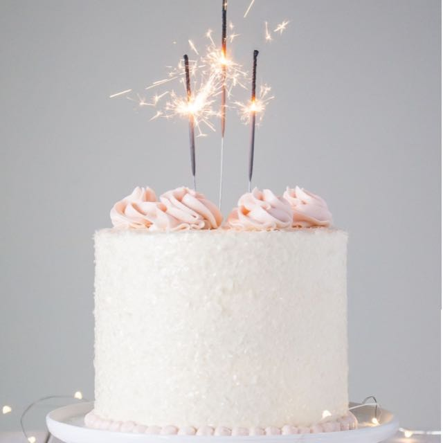 Birthday Cake Sparklers Sparkling Candle On Carousell