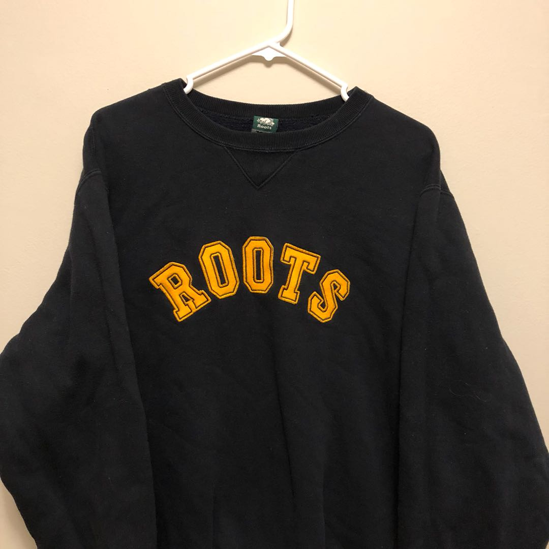 Black/Yellow Roots Sweater