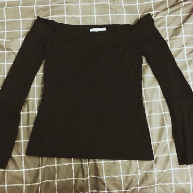 BNWTG SUPRE Long Sleeve Black
