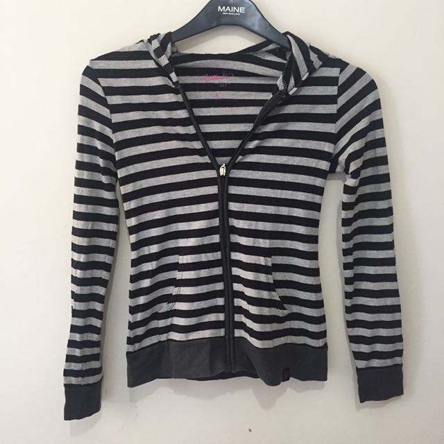 BNY Black & White Stripes Jacket