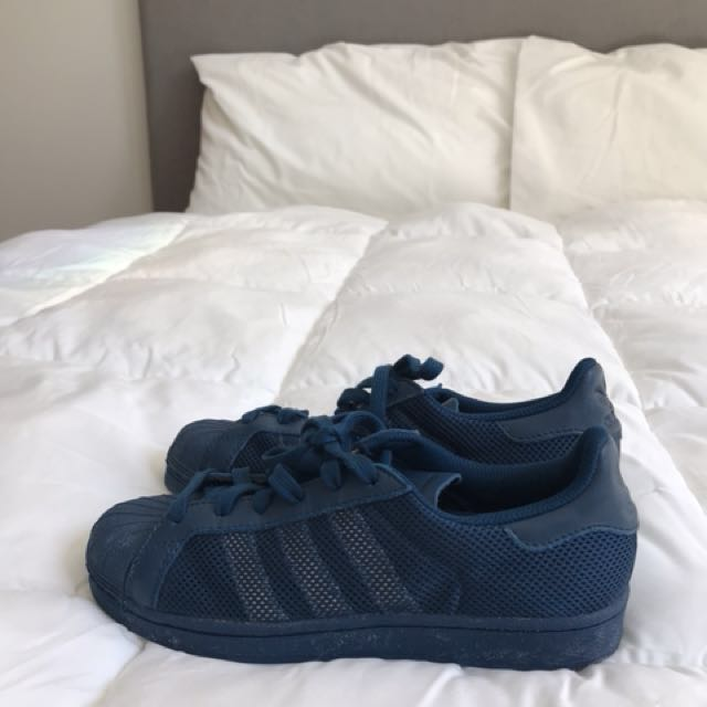 BRAND NEW Navy Adidas Sneakers