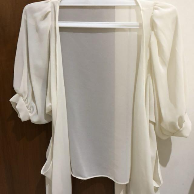 Broken White Cardigan / Outer