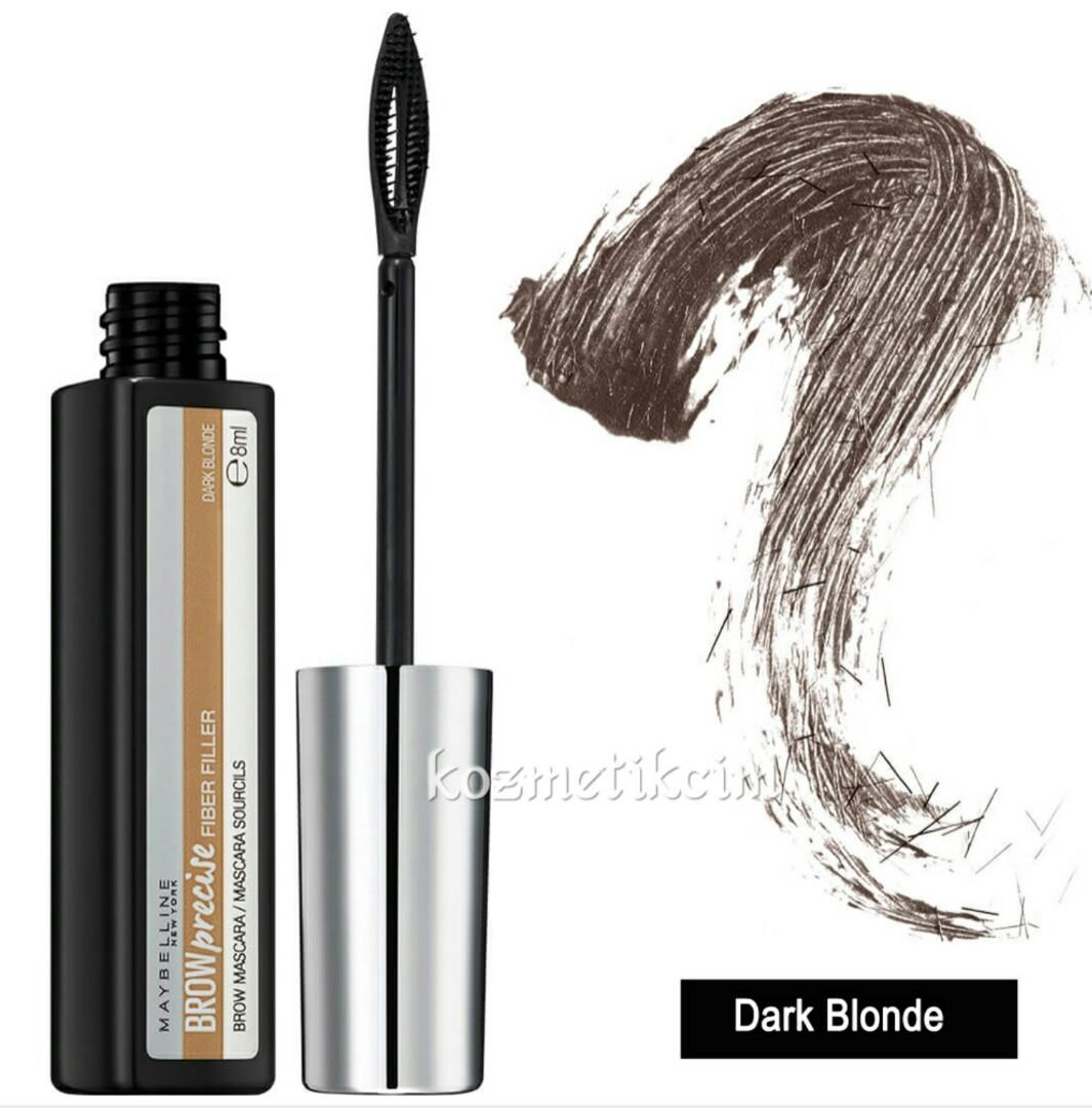 c48bb9c02a0 Brow Precise Fiber Filler Eyebrow Mascara in Dark Blonde, Health & Beauty,  Makeup on Carousell
