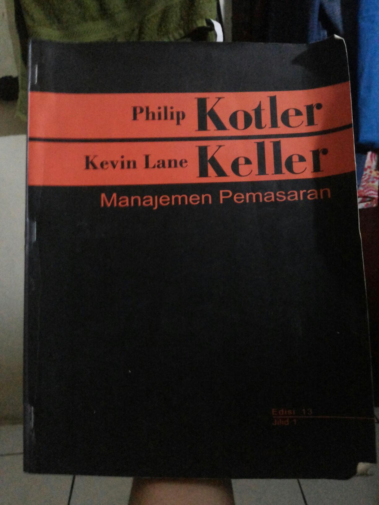 Buku Manajamen Pemasaran