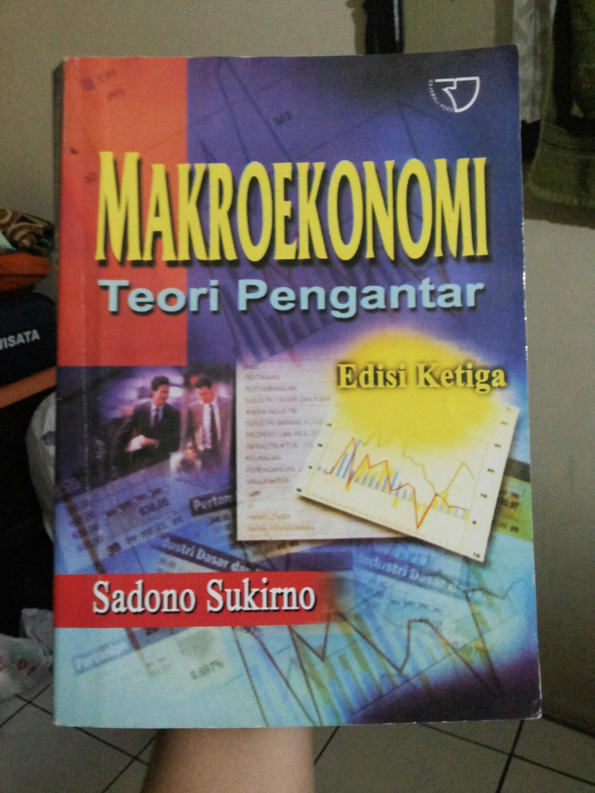 Buku Pengantar Ekonomi Makro