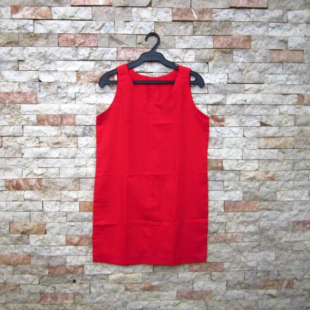 Black Blazer & Red Dress