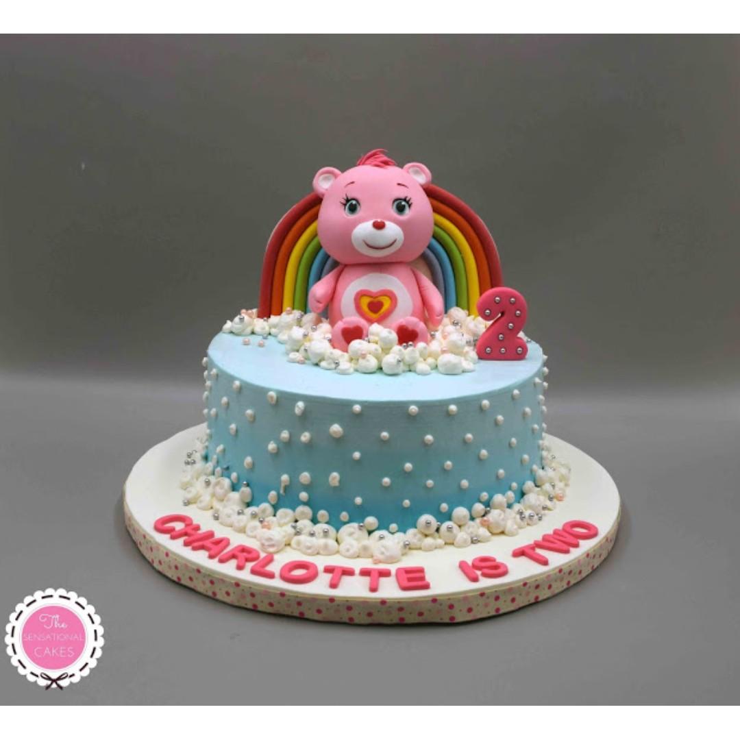 Care Bear Concept 3D Birthday Cake Singapore SingaporeCake Food