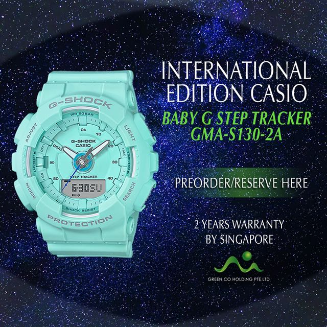 f2b615113da2 CASIO INTERNATIONAL EDITION BABY G SHOCK S SERIES STEP TRACKER GMA-S130VC-1A   GMA-S130VC-2A  GMA-S130VC-4A  GMA-S120VC-8A