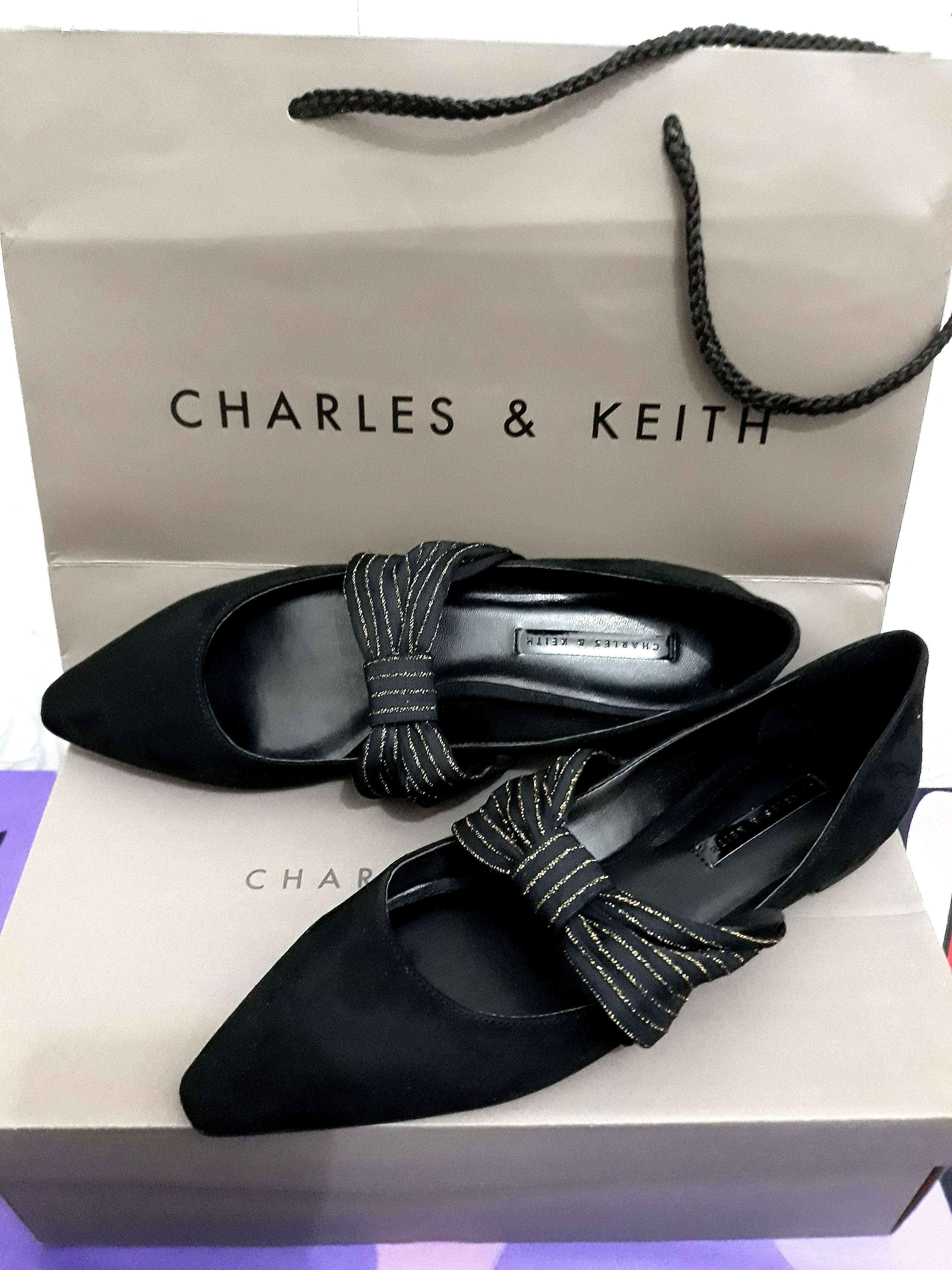 Charles&keith flat shoes