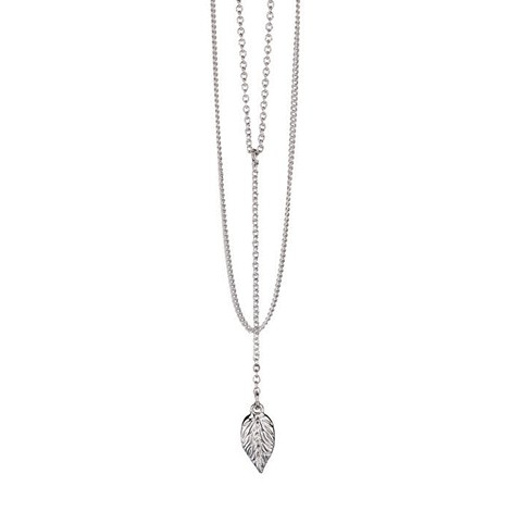 Charmed Y Drop Necklace Leaf