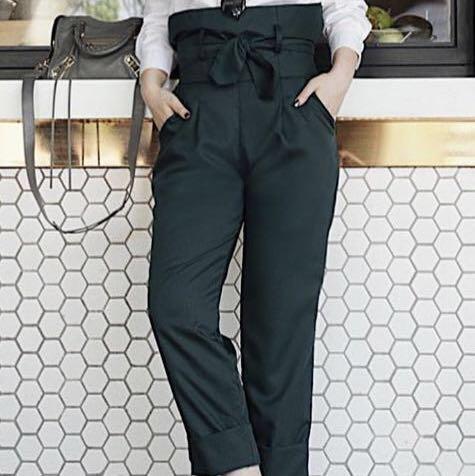 ChlorineClothe Dark Green Pants
