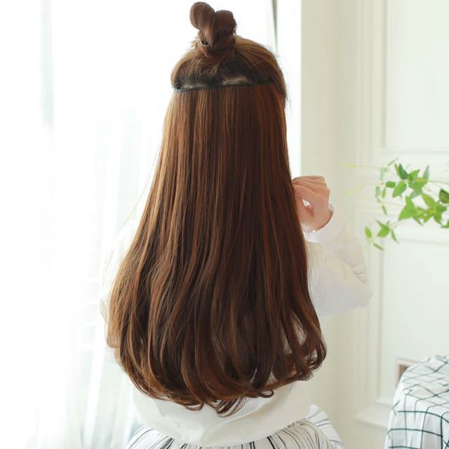 Clip On Hair Extension Ulzzang (PO)
