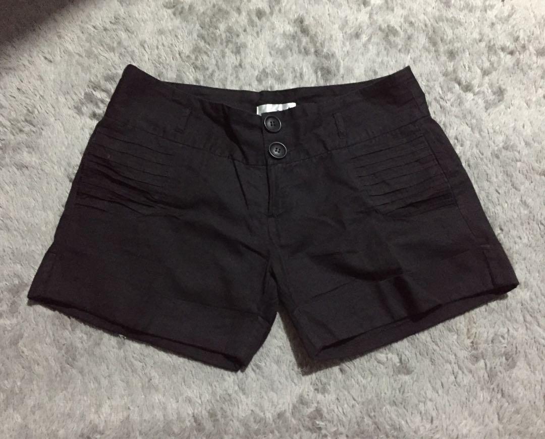 Cotton hot pants