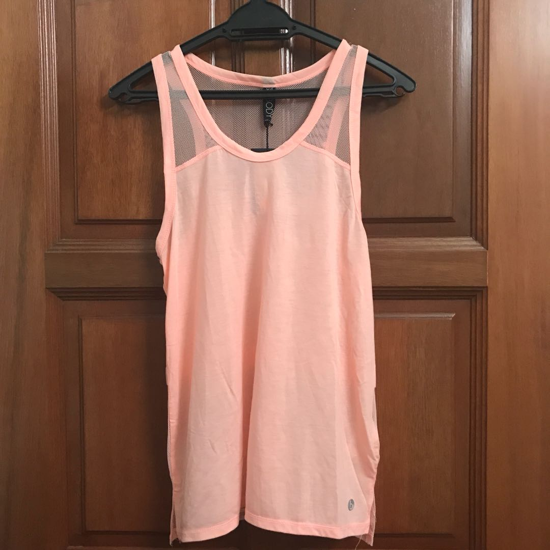 Cotton On Body Neon Pink Sports Singlet Top