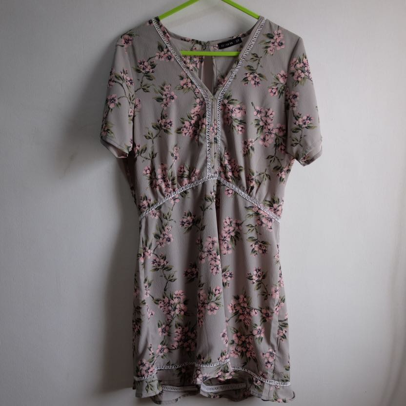 Cotton On Floral Jumpsuit
