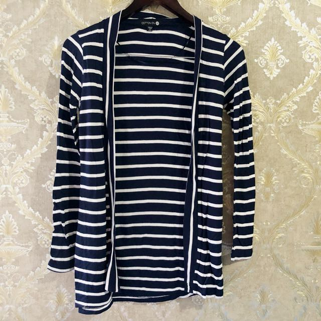 COTTON ON Striped Cardigan