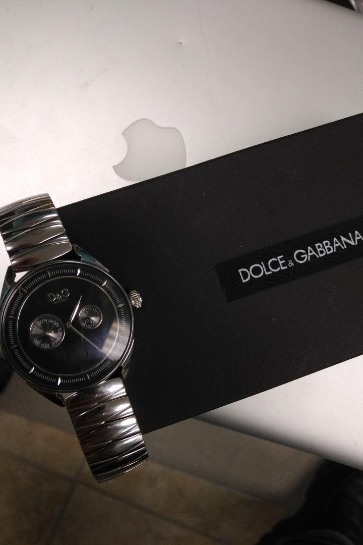 Dolce Gabbana mens watch authentic